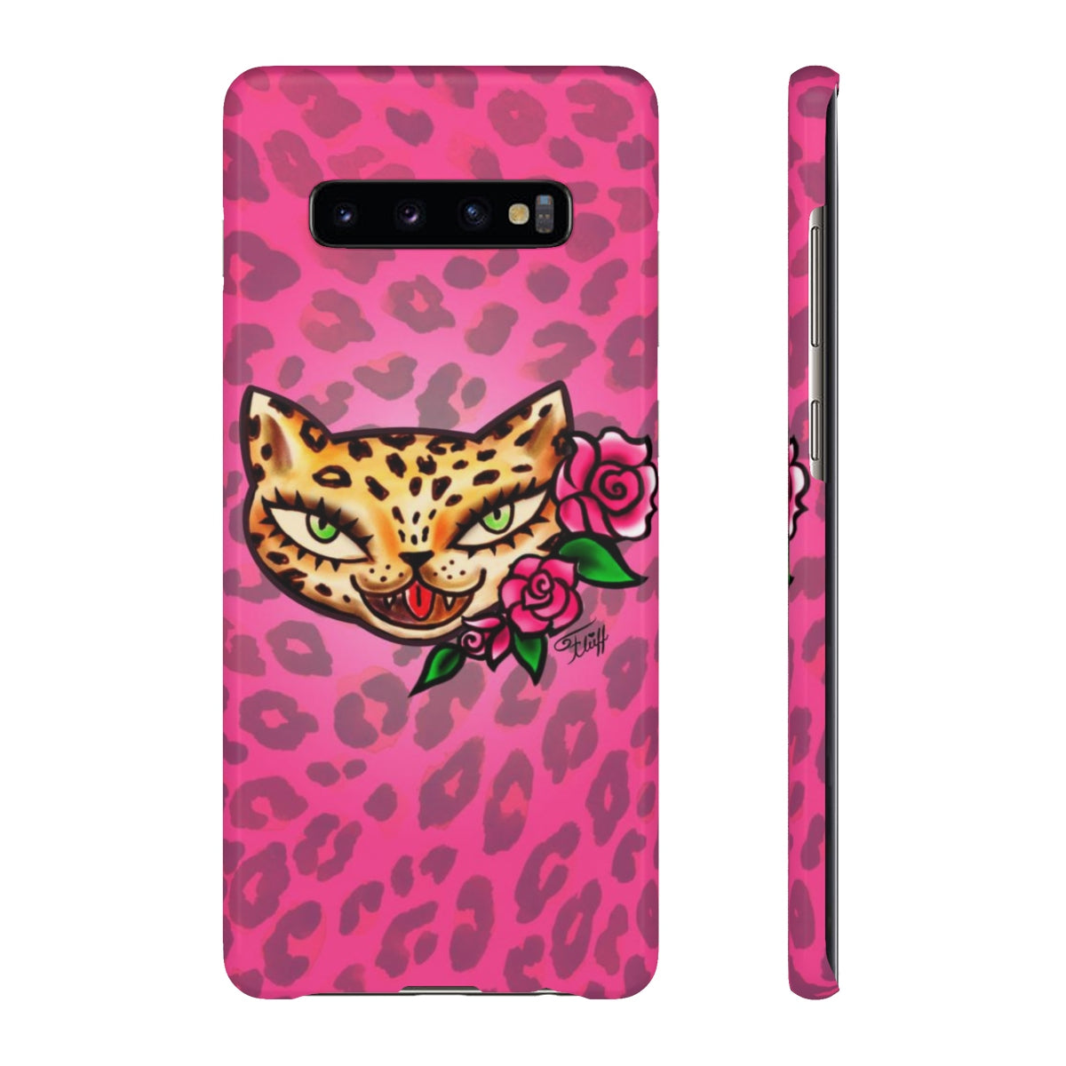 Leopard Kitty • Samsung Galaxy Phone Case