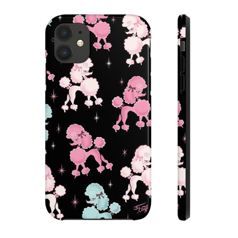 Poodle-rama • Phone Case