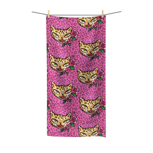 Leopard Kitty • Towel