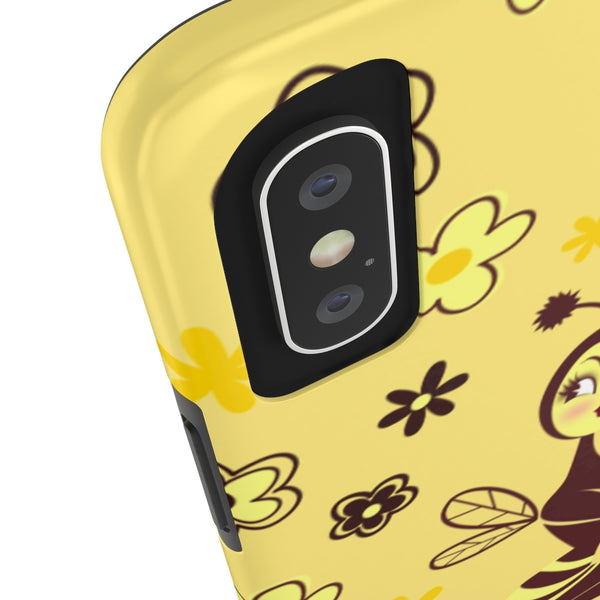 Bee Girl • Phone Case