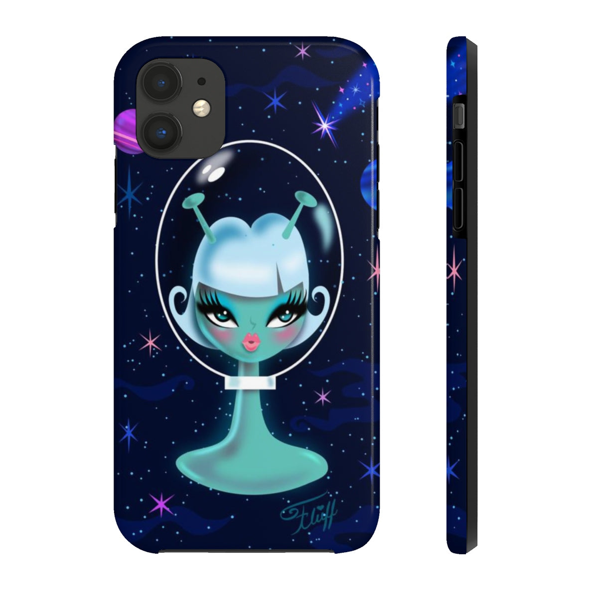 Alien Girl - Spooky Dolls • Phone Case