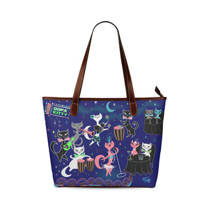 Mambo Kitties • Purse Tote