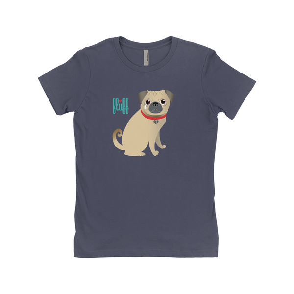 Montague the Crying Pug • T-Shirt (Juniors sizing)