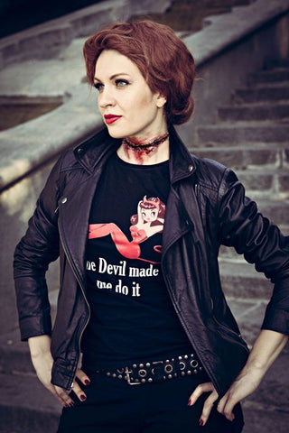 Abaddon Supernatural • The Devil Made Me Do it • Women's T-Shirt