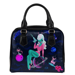 Alien Girl on Saturn • Purse