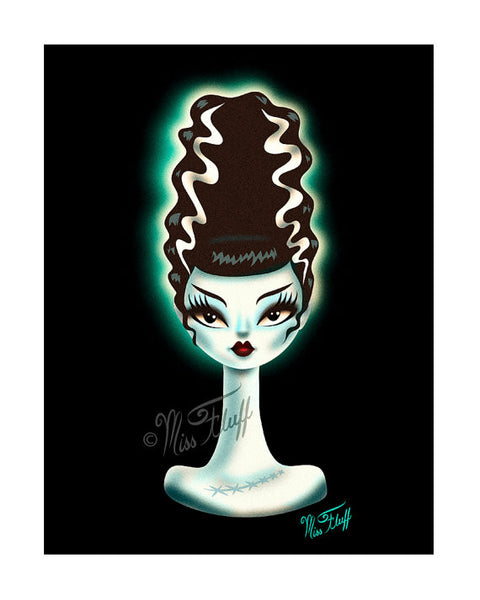 Bride of Frankenstein- Art Print