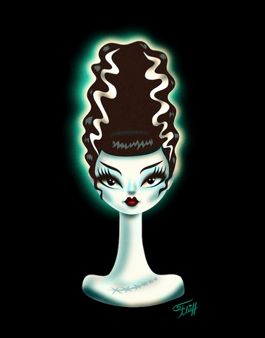 Bride of Frankenstein • Art Print