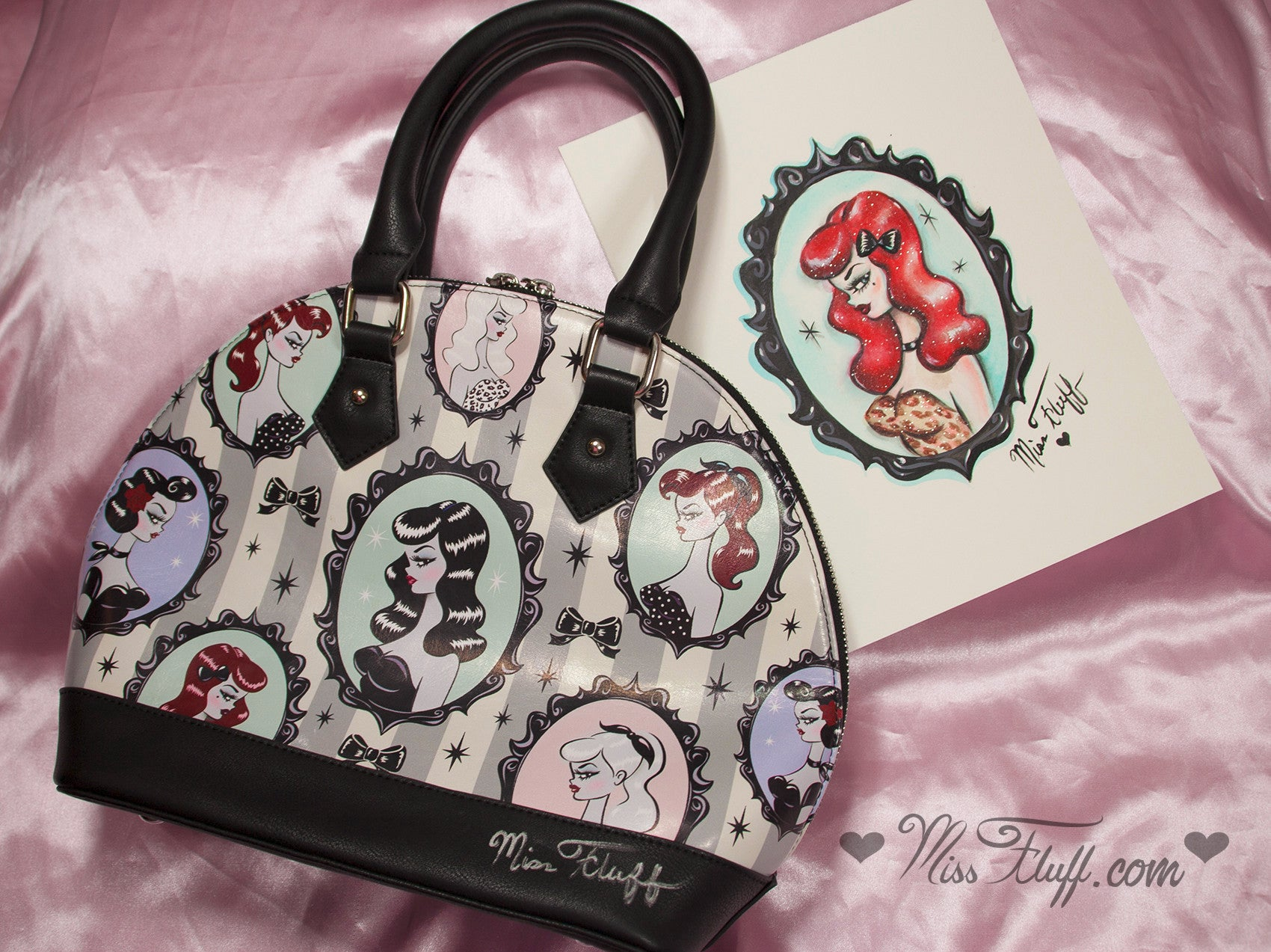 Pre-production Cameo Dolls BAG- SIGNED! and More!