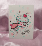 Special CUPCAKE DOLLS WALLET- SIGNED! and more!