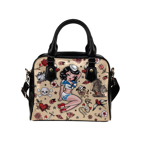 Suzy Sailor • Purse with Detachable Shoulder Strap