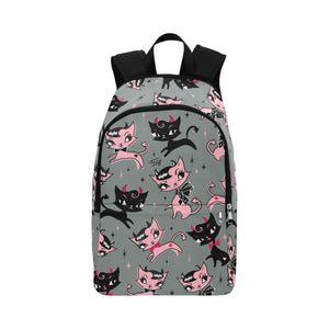 Devil Kitties Grey • Backpack