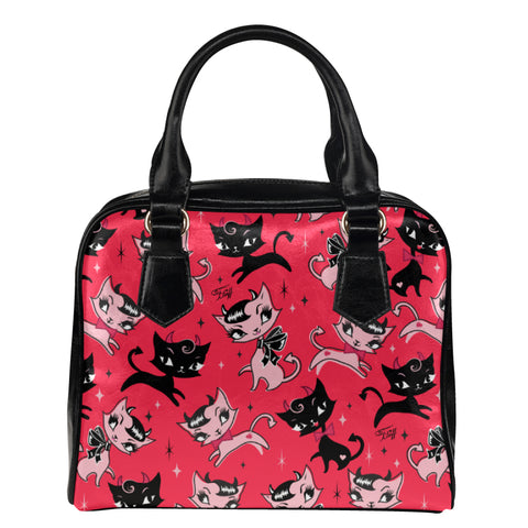 Devil Kitties Red • Purse