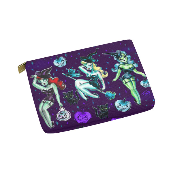 Witches and Black Cats • Carry All Pouch