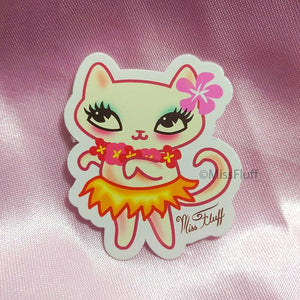 Hula Kitty • Sticker