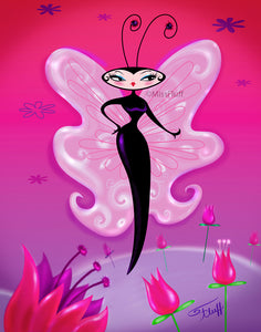 Madame Butterfly • Art Print