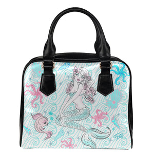 Pink Pearl Beach Mermaid • Purse