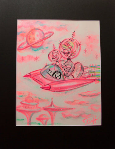 Intergalactic Joy Ride - Original 8x10