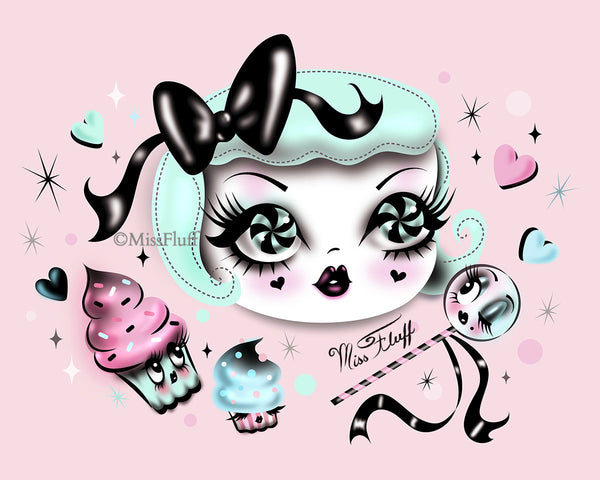 Dolly in a Sugar Coma- Fine Art Print