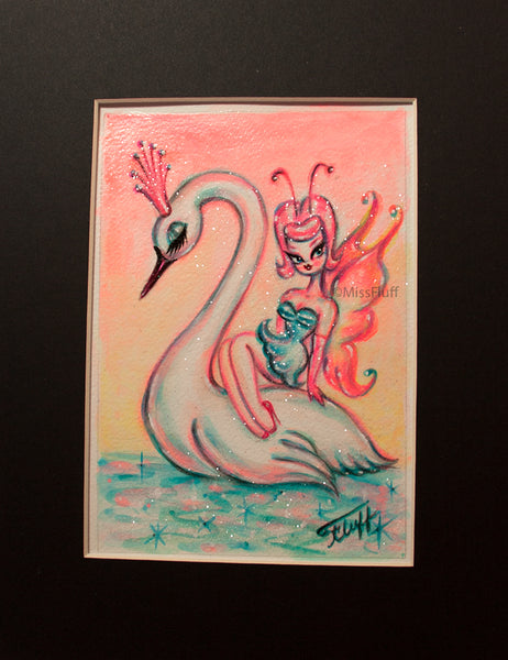 Swan Pixie - Original Sketch