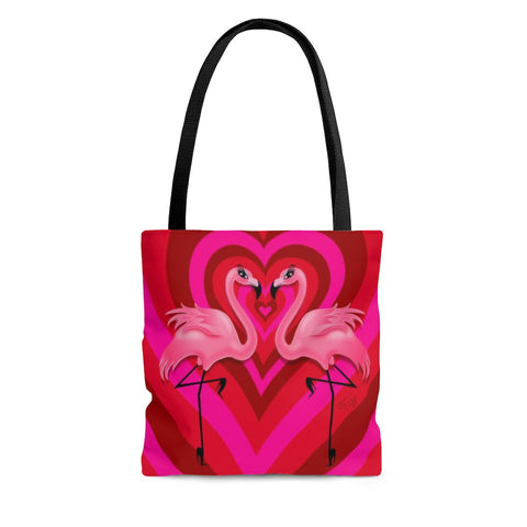 Flamingo Love • Tote Bag