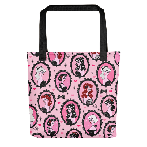 Cameo Dolls Pink • Tote Bag