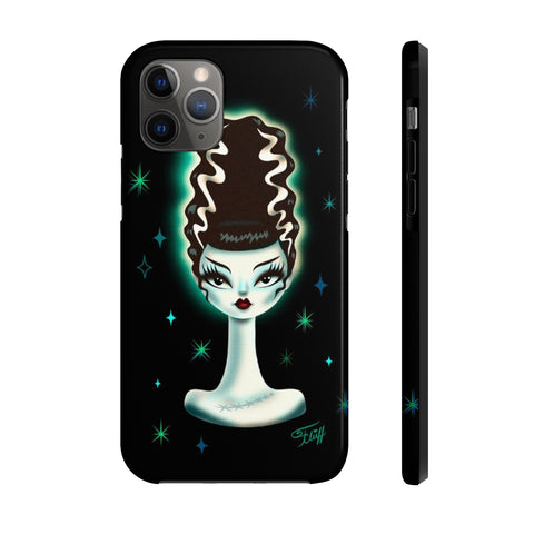 Spooky Dolls - Bride of Frankenstein • Phone Case