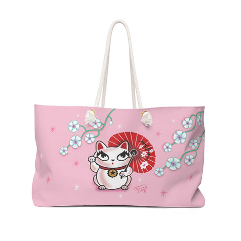 Kyoto Kitty  • Weekender Bag