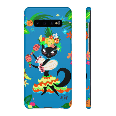 Kitten Miranda Blue  • Samsung Galaxy Phone Case