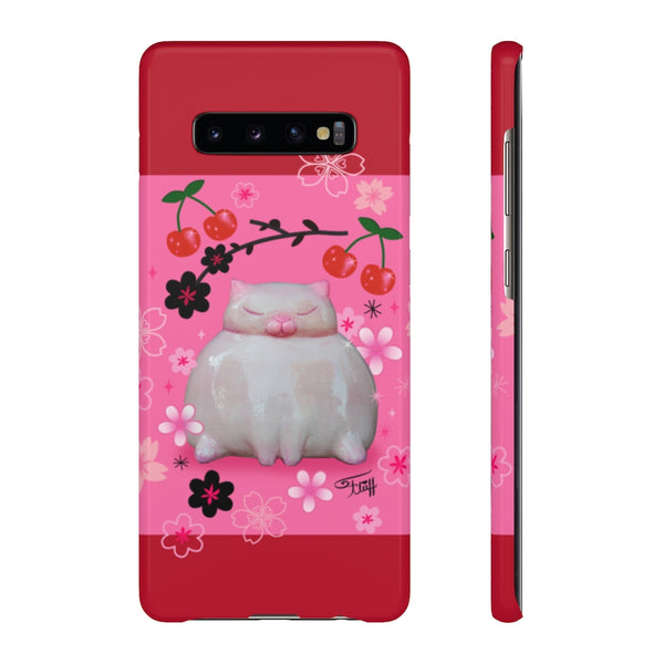 Sumo Kitty on Pink • Samsung Galaxy Phone Case
