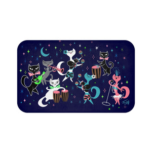 Mambo Kitties • Bath Mat