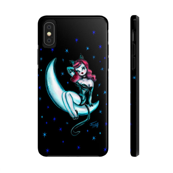 Kitten on the Moon • Phone Case