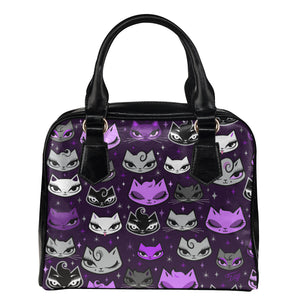 Billy Cats Purple • Purse