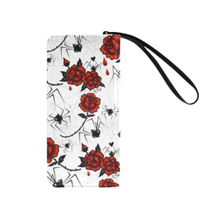 Black Widows and Roses • Clutch Wallet