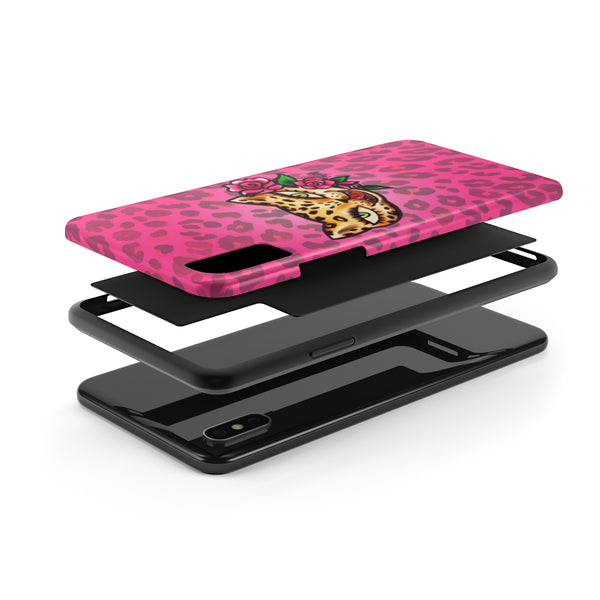 Leopard Kitty • Phone Case