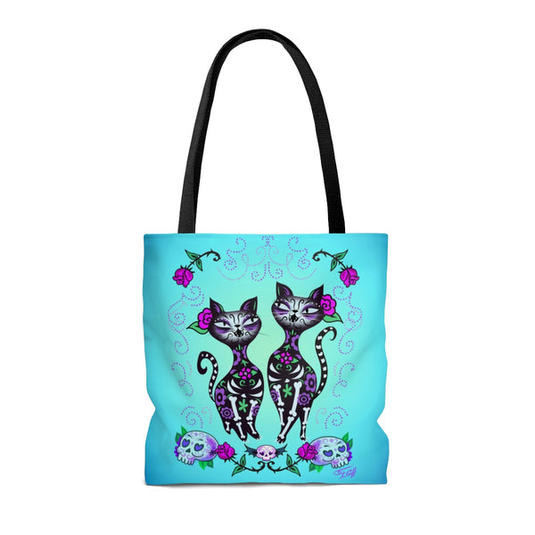 Sugar Skull Cats • Tote Bag