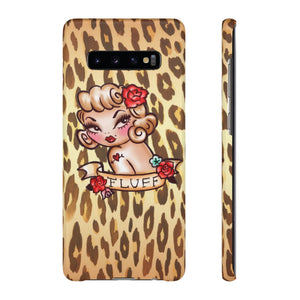 Lady Leopard • Samsung Galaxy Phone Case