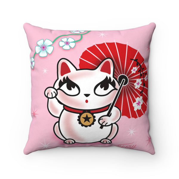 Kyoto Kitty • Square Pillow