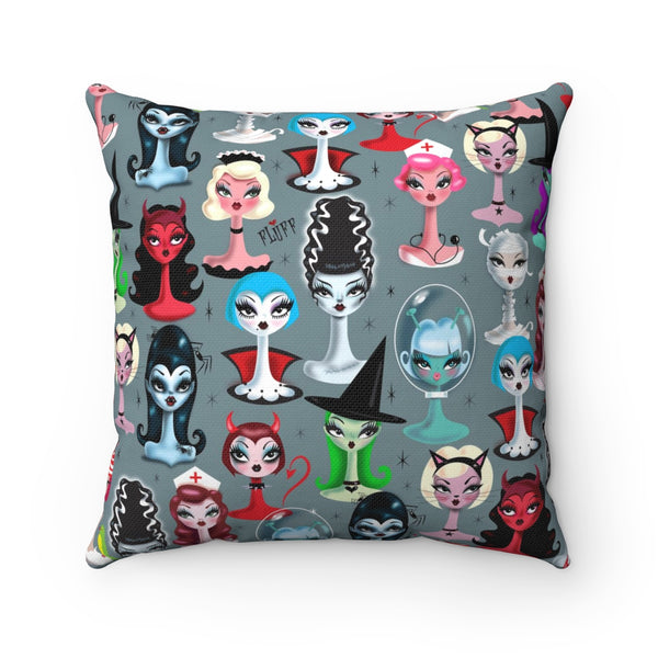 Spooky Dolls  • Square Pillow