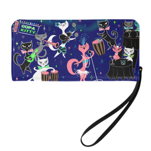 Mambo Kitties • Clutch Wallet