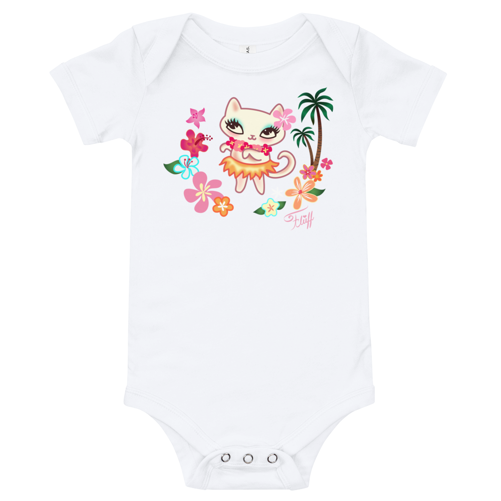 Hula Kitty • Baby Onesie