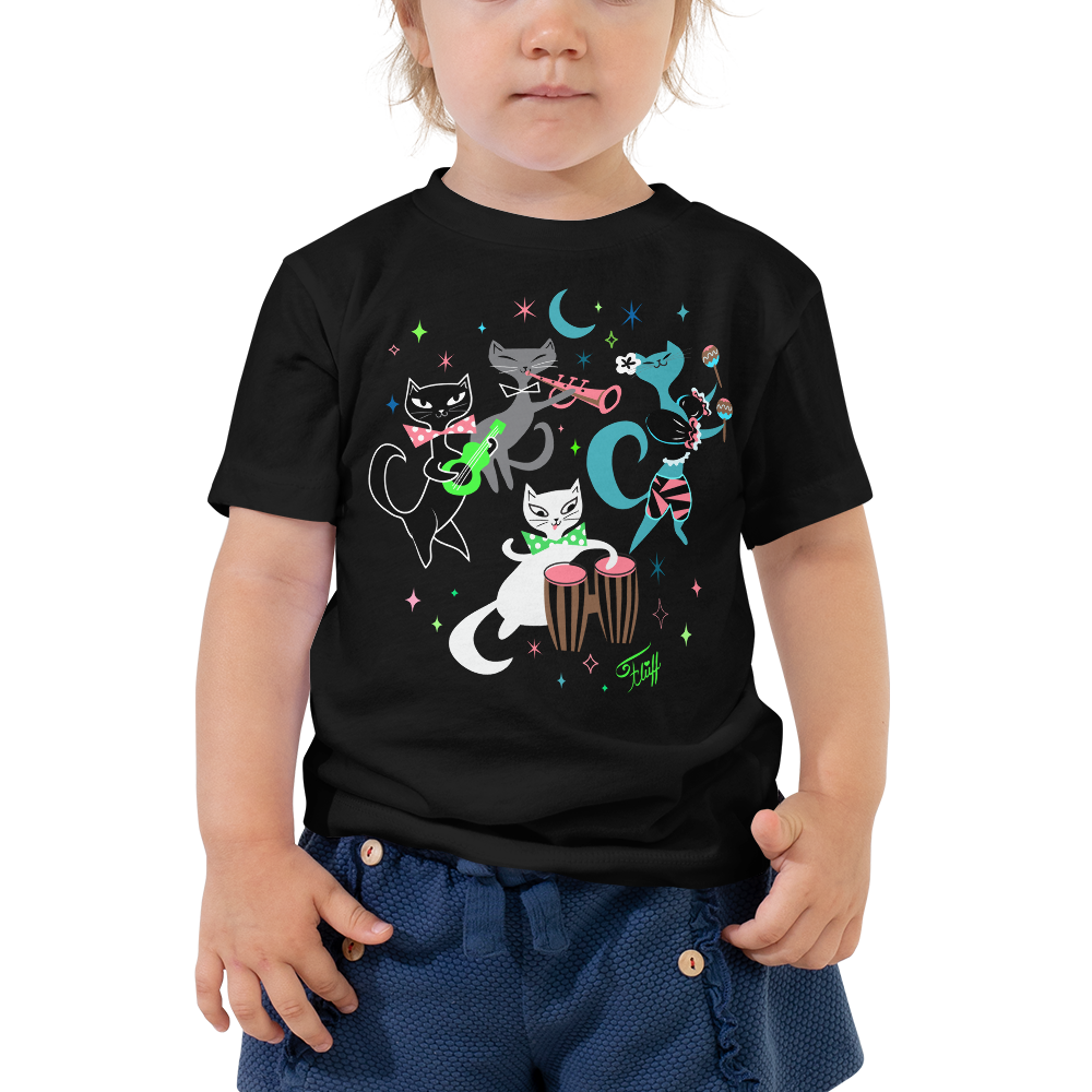 Mambo Kitties • Toddler Short Sleeve Tee