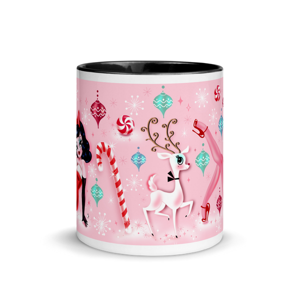 Christmas Pinup Girl • Mug