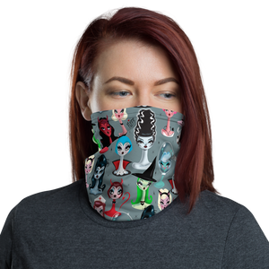 Spooky Dolls • Neck Gaiter Face Mask