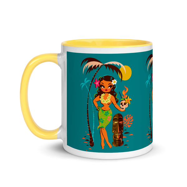 Tiki Temptress • With Skull Mug • Mug