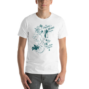 Pineapple Mermaid Grotto • Short-Sleeve Men's T-Shirt