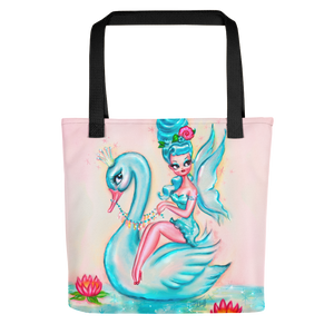 Blue Swan Fairy • Tote Bag