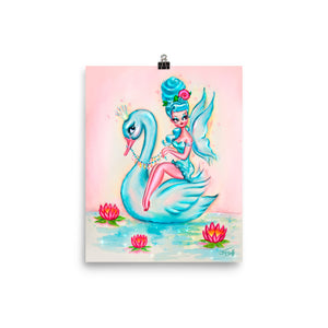 Blue Swan Fairy • Art Print