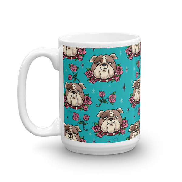 Bulldogs and Roses • Mug