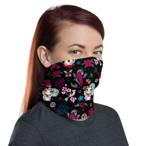 Lucky Kitty • Neck Gaiter Face Mask
