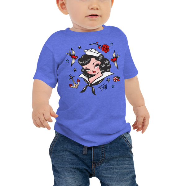 Suzy Sailor • Baby Tee